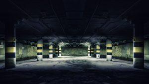חניות תת קרקעי