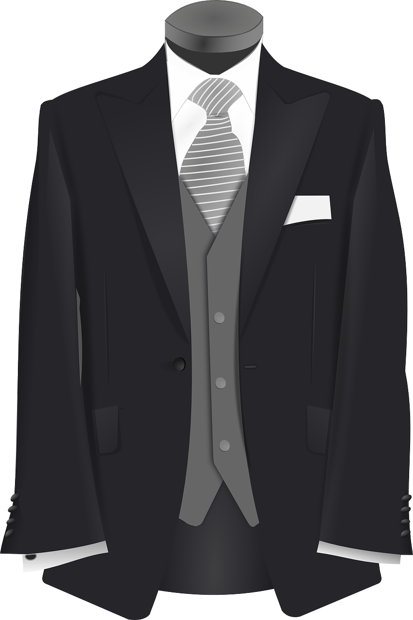 חליפה מגוהצת